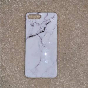 Accessories - Glossy iPhone 7/8 plus marble case